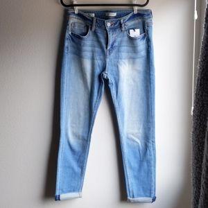 Vigoss Girlfriend Roll Cuff Jeans
